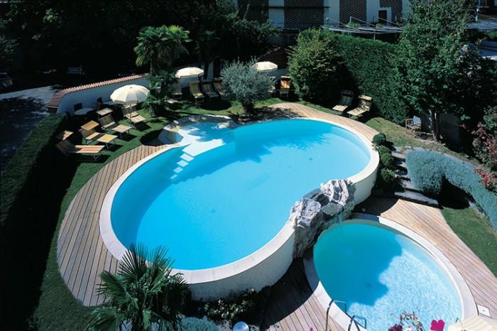 Piscine fuori terra interrate su terrazzo o interne in for Constructor piscinas