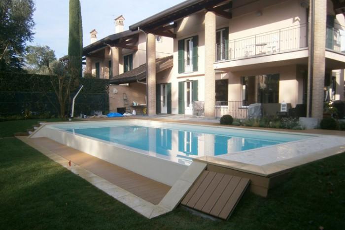 Piscine fuori terra interrate su terrazzo o interne in - Quanto costa mantenere una piscina fuori terra ...