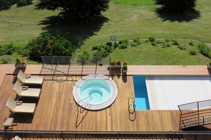 Piscine fuori terra interrate su terrazzo o interne in - Piscine per terrazzi ...